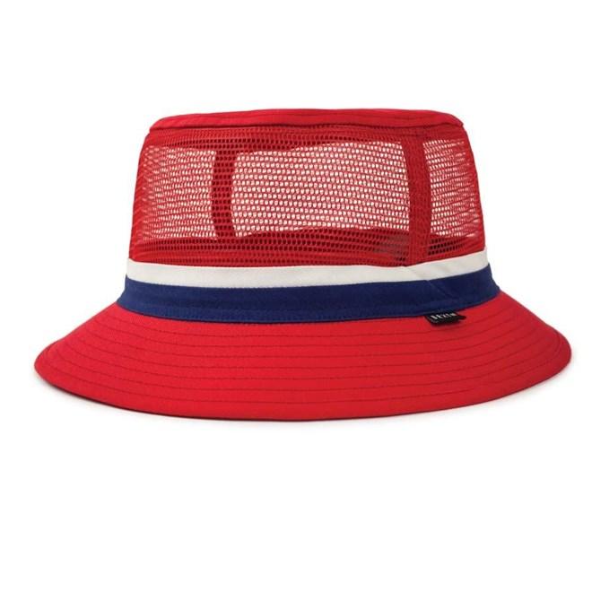 klobouk BRIXTON - Hardy Bucket Hat Red/Navy (RDNAV)