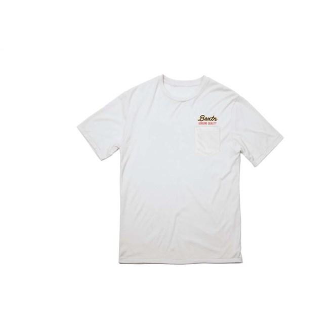 Tshirt BRIXTON - Sprint S/S Pkt White (WHITE)