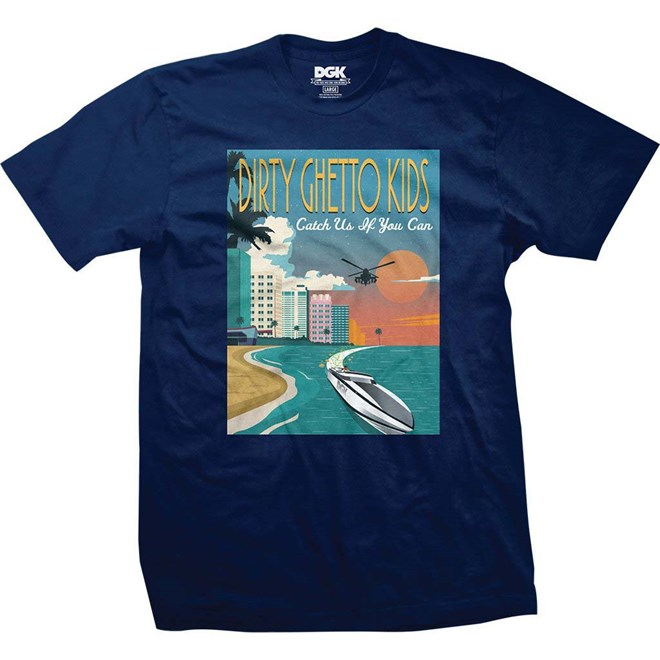 triko DGK - Go Fast Harbor Blue (HARBOR BLUE)