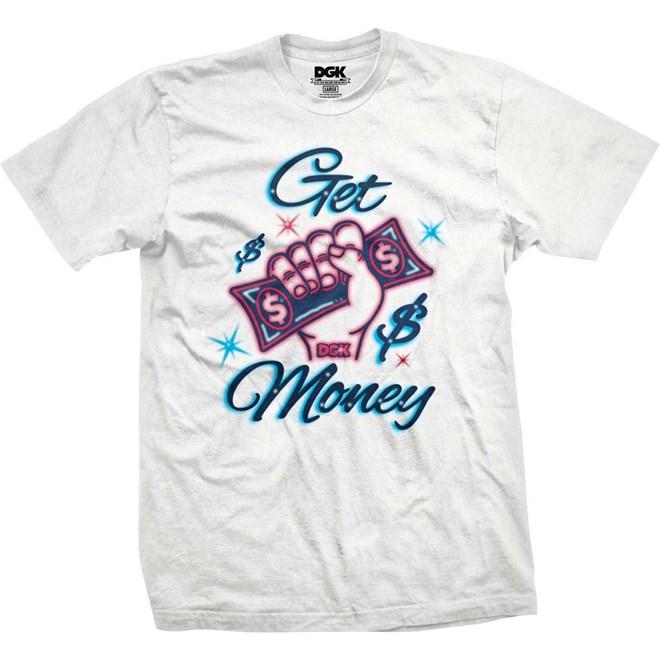 triko DGK - Get Money Tee White (WHITE)