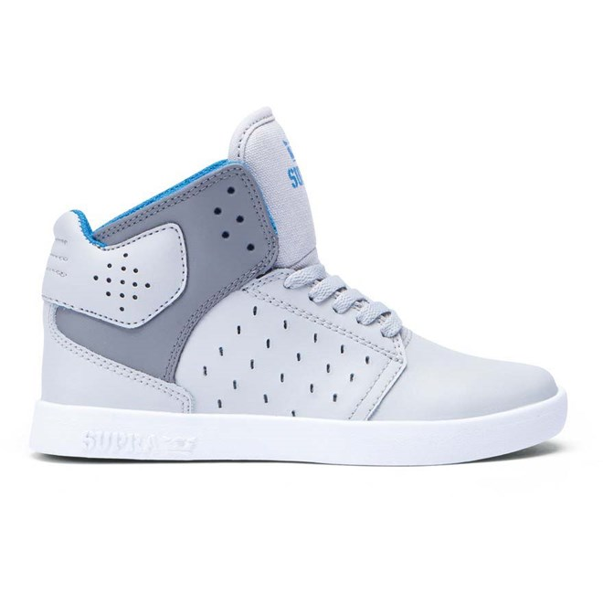 68412ef91d356 topánky SUPRA - Toddler Atom Light Grey/Charcoal-White (GCH ...