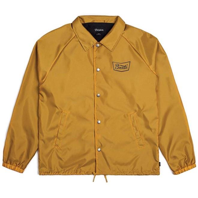bunda BRIXTON - Stith Jacket Mustard/Navy (MUNAV)