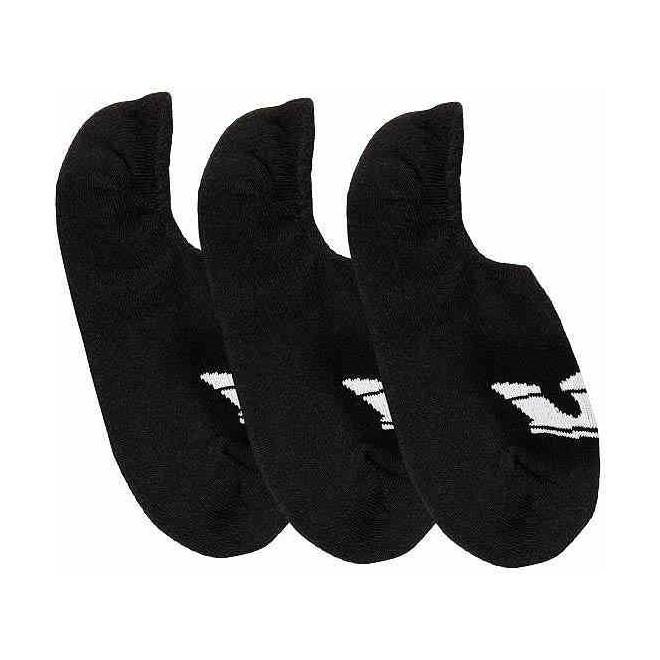 ponožky SUPRA - No Show Sock Black (001)