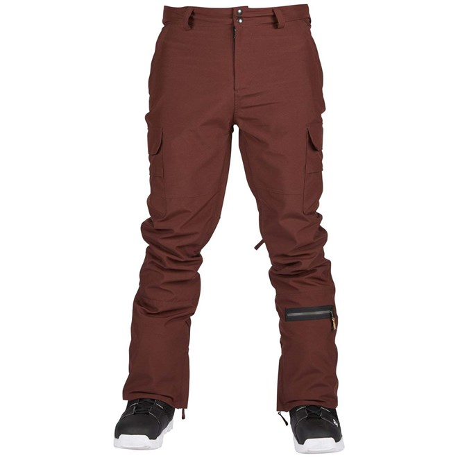 kalhoty SESSIONS - Squadron Pant Maroon (MAR)