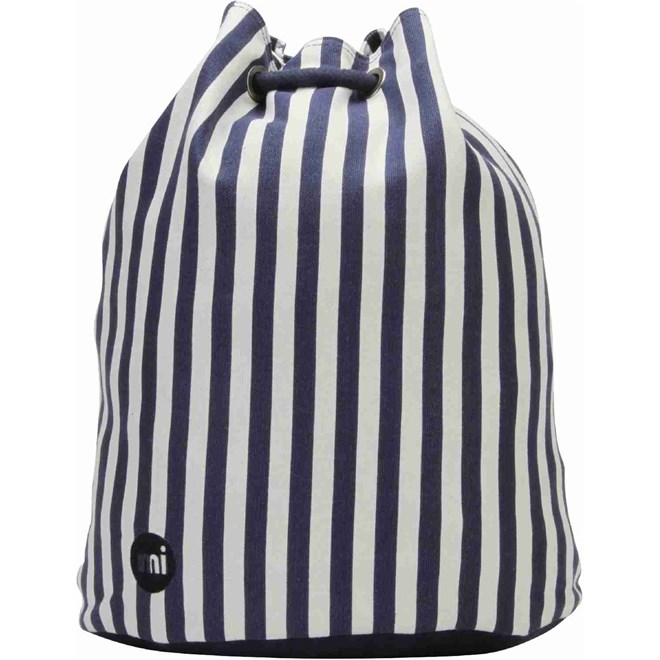 gymsack MI-PAC - Swing Bag Seaside Stripe Blue (008)