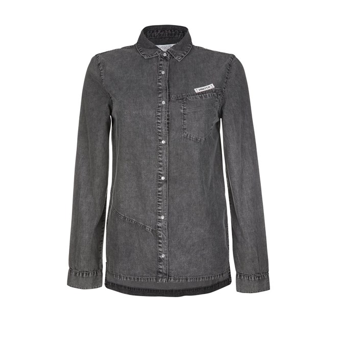 košile NIKITA - Siphon Shirt Gray Haze (GHZ)