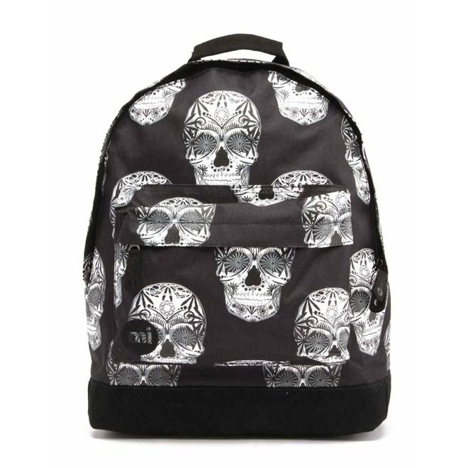 batoh MI-PAC - Skulls Black (001)