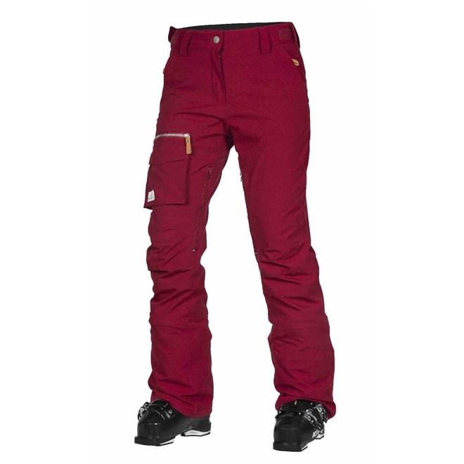 kalhoty CLWR - Slant Pant Burgundy (743)