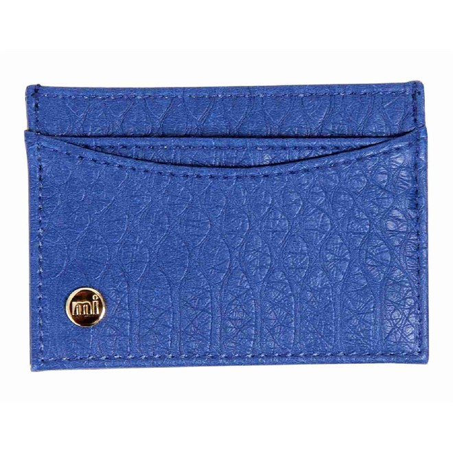 peněženka MI-PAC - Card & Wallet Snakeskin Blue (001)