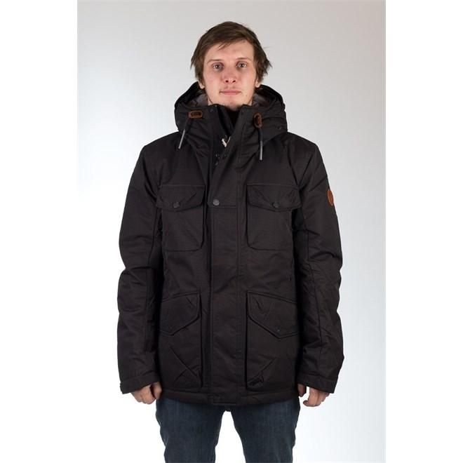 bunda REELL - Field Jacket Black Black (Black )