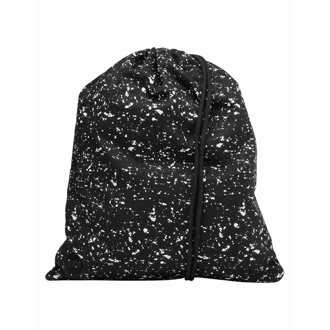 gymsack MI-PAC - Kit Bag Splattered  Black/White (003)