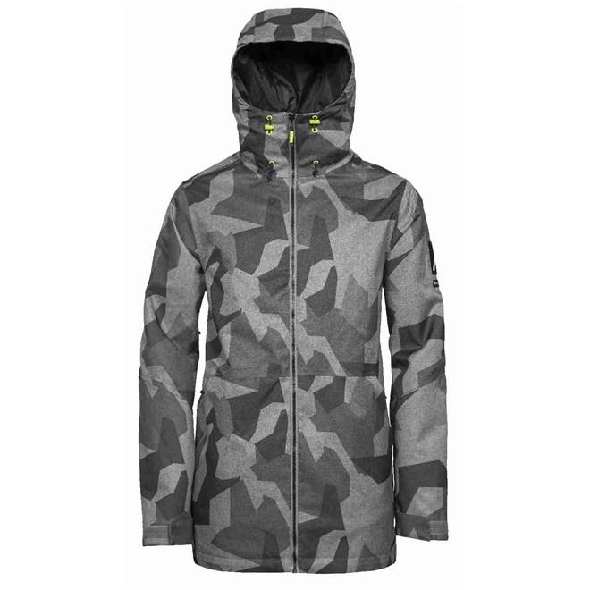 kurtka CLWR - Stride Jacket Asymmteric Grey (812)