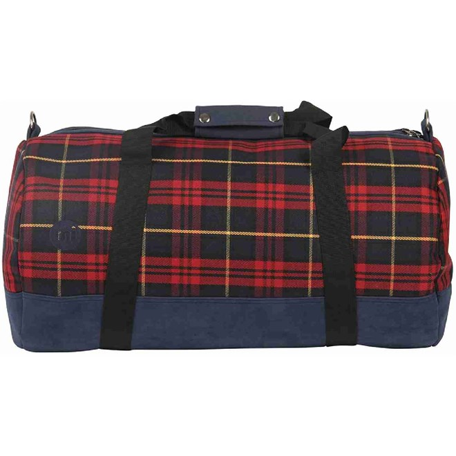 cestovní taška MI-PAC - Duffel Tartan Burgundy (A06)