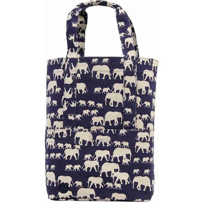 kabelka MI-PAC - Tote Elephants Blue (001)