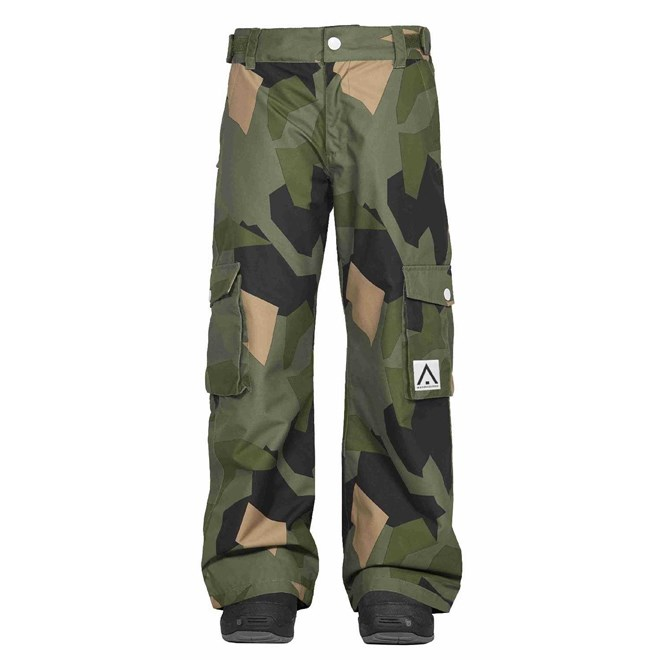 kalhoty CLWR - Trooper Pant Asymmetric Olive (510)