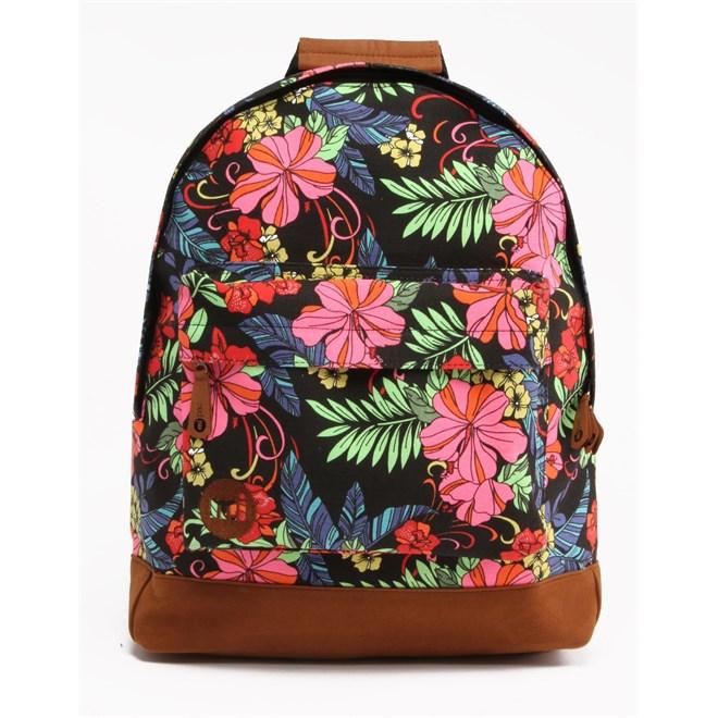 batoh MI-PAC - Tropical Floral Neon Black (001)