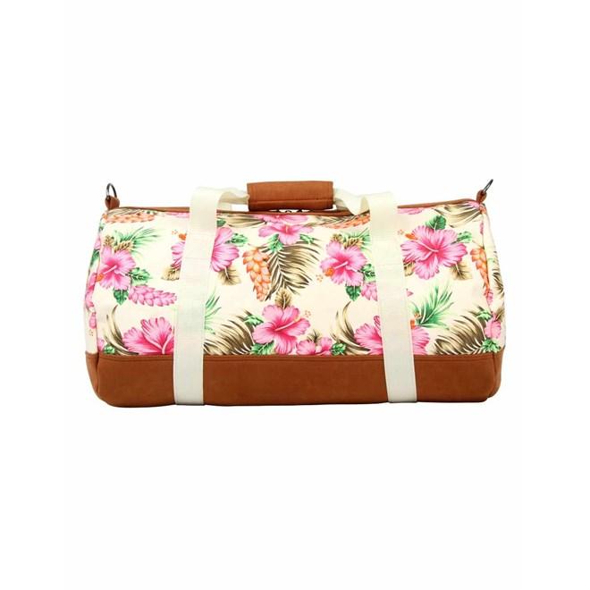cestovní taška MI-PAC - Duffel Tropical Hibiscus Natural (A09)