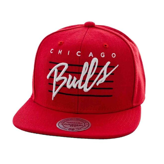 kšiltovka MITCHELL & NESS - Cursive Retro Script Chicago Bulls (BULLS)