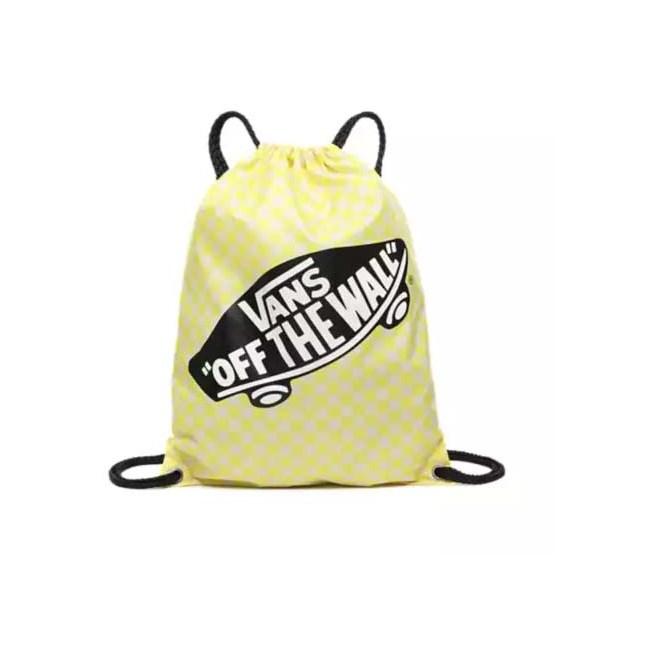 gymsack VANS - Benched Bag Lemon Tonic Checkerboard (VD7)