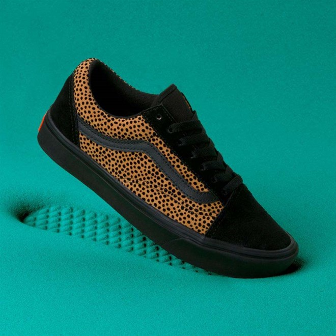 topánky VANS - Comfycush Old Skool (Tiny Cheetah) Black (VWS)