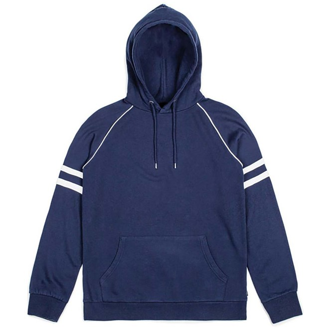 mikina BRIXTON - Wicker Hood Fleece Navy (NAVY)