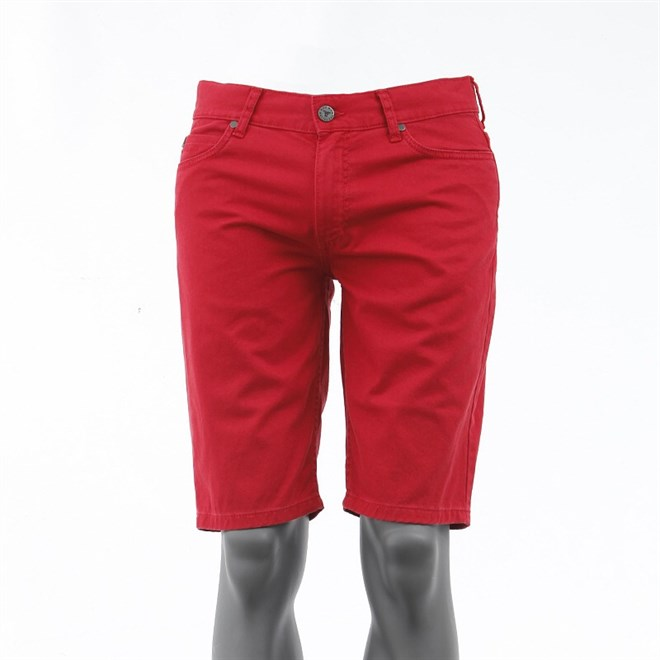 kraťasy FALLEN - Winslow Color Twill Washed Red (WARD)