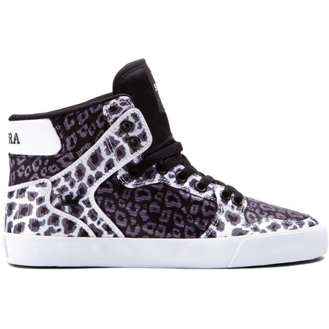 boty SUPRA - Women-Vaider Black/Animal (BAN)