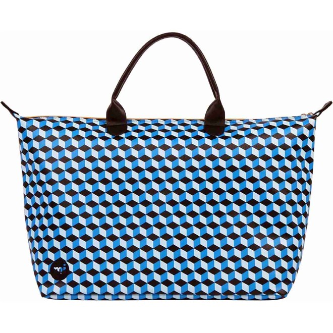 cestovní taška MI-PAC - Weekender Cubic Blue/Aqua (006)