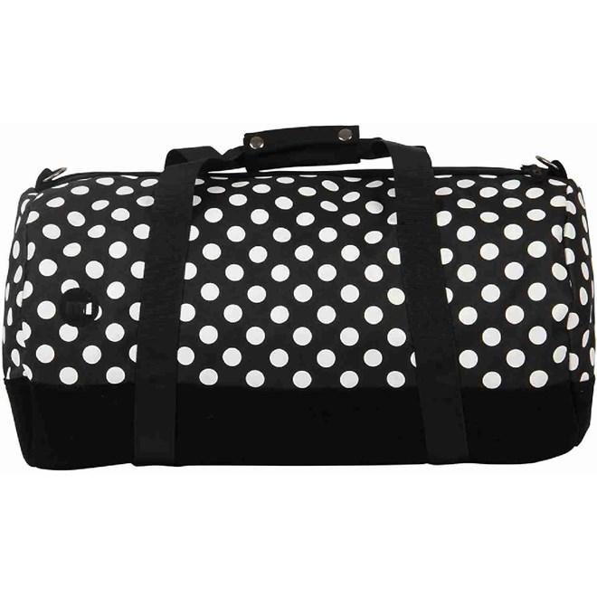 cestovní taška MI-PAC - Duffel All Polka Blk/White-Blk (100)