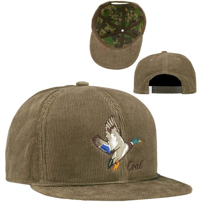 kšiltovka COAL - The Wilderness Light Brown (Duck)  (18)