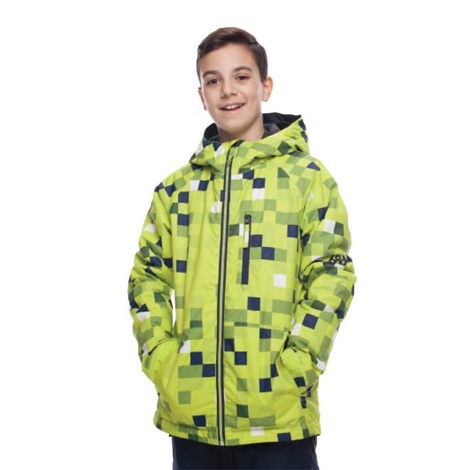 bunda 686 - Boys Jinx Insl Jkt Lime Cube (LIM)