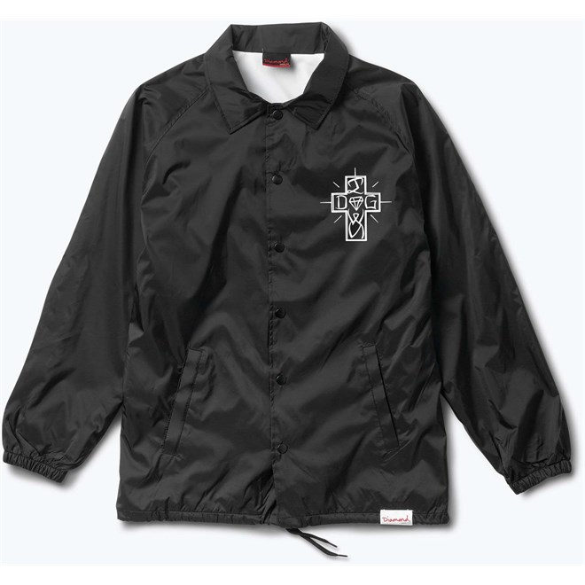 bunda DIAMOND - Dogtown Coaches Jacket Black (BLK)