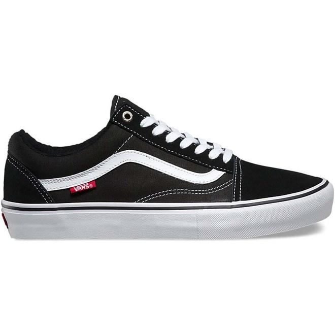 Schuhe VANS Old Skool Pro BlackWhite (Y28)