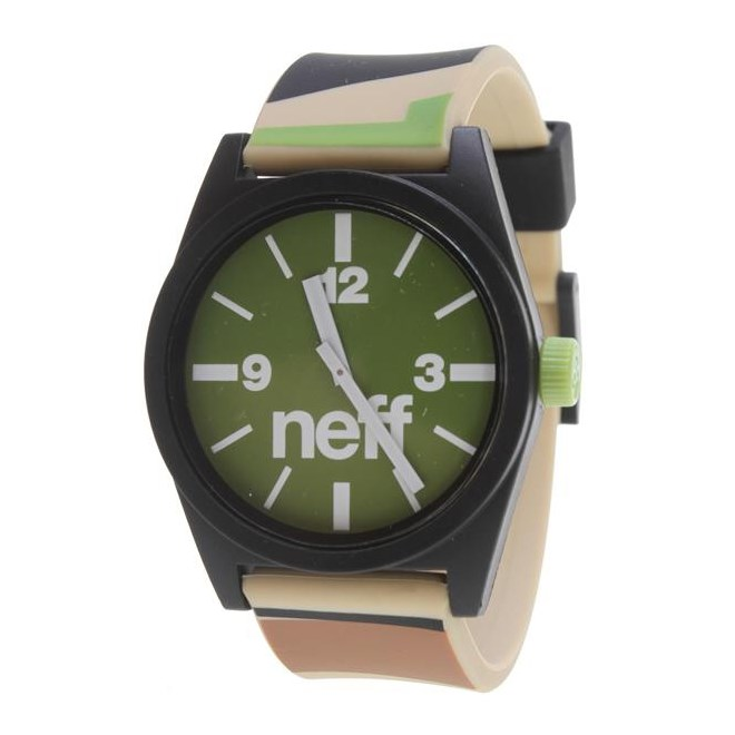 hodinky NEFF - Zumiez Daily Helv Camo (CMOL)
