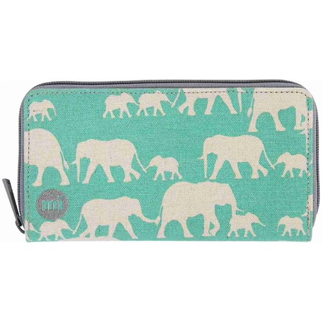 peněženka MI-PAC - Zip Purse  Elephants Mint (022)