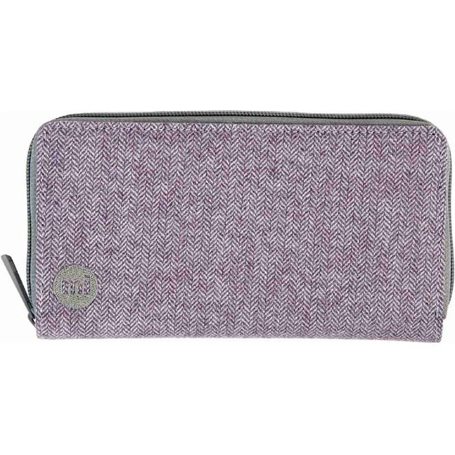 peňaženka MI-PAC - Zip Purse Herringbone Lilac (021)  4e6ea309b0