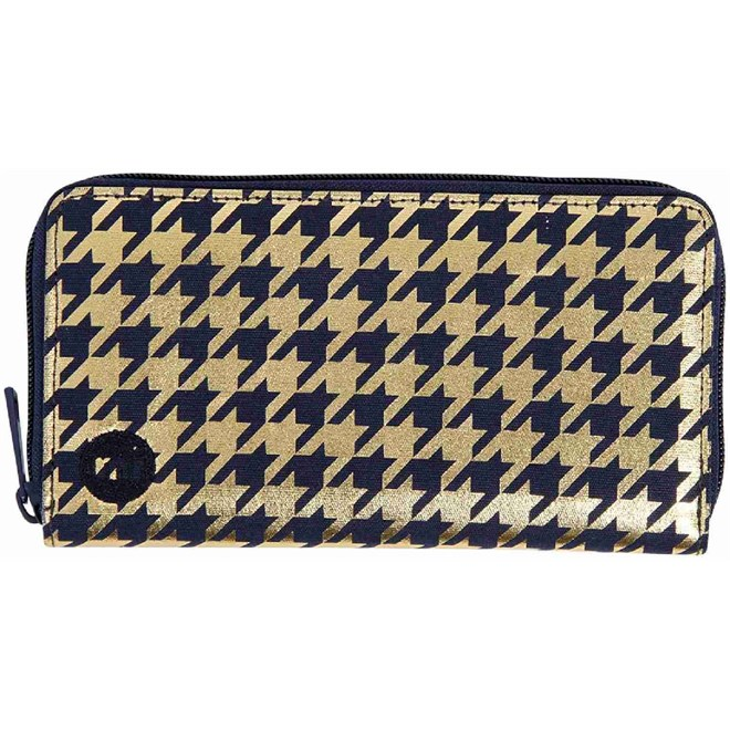 peněženka MI-PAC - Zip Purse  Houndstooth Navy/Gold (024)