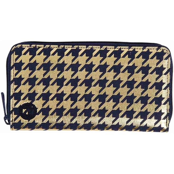 peněženka MI-PAC - Zip Purse Houndstooth Navy/Gold (024)