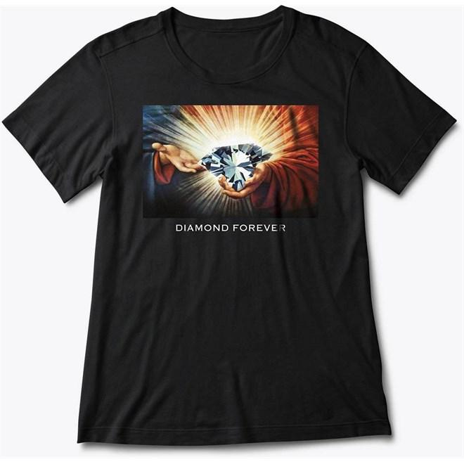 triko DIAMOND - Diamond Forever 16 Tee Black Blk (BLK)