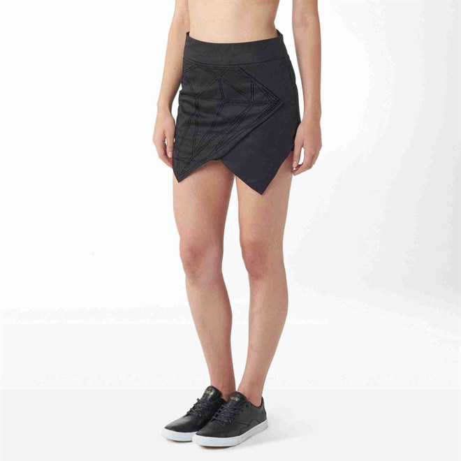 sukně DIAMOND - Diamond Skirt Black (BLK)