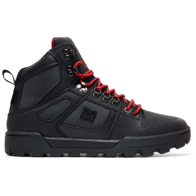 boty DC - Pure Ht Wr Boot Black/Grey/Red (XKSR)