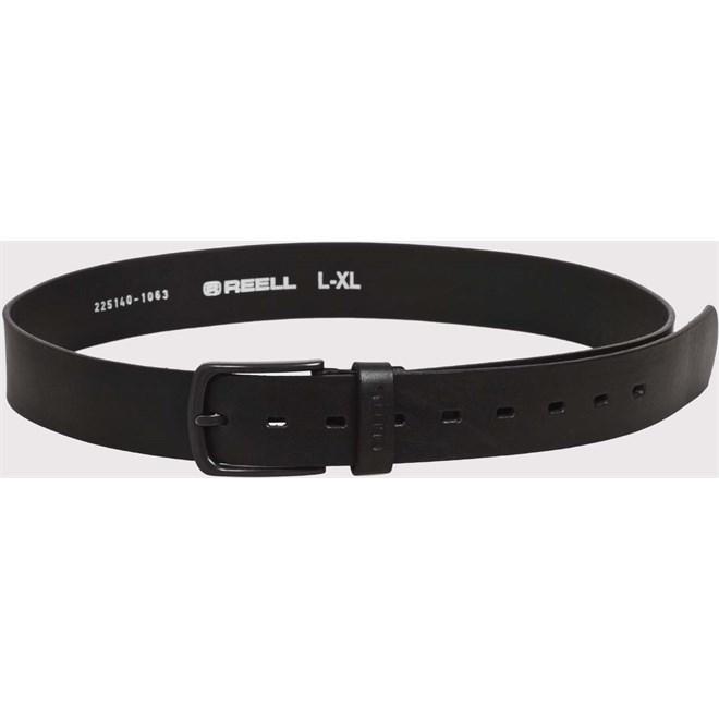 pásek REELL - All Black Buckle Belt Black (BLACK)