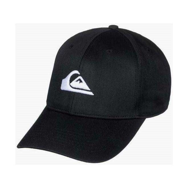 czapka z daszkiem QUIKSILVER - Decades Black (KVJ0)