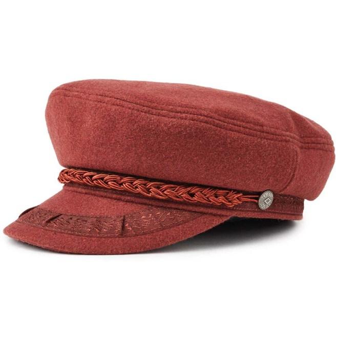 czapka z daszkiem BRIXTON - Athens Cap Merlot (MERLO)