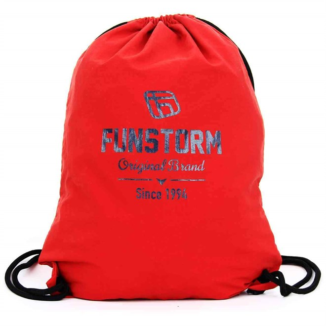 gymsack FUNSTORM - Minnet Red  (24)
