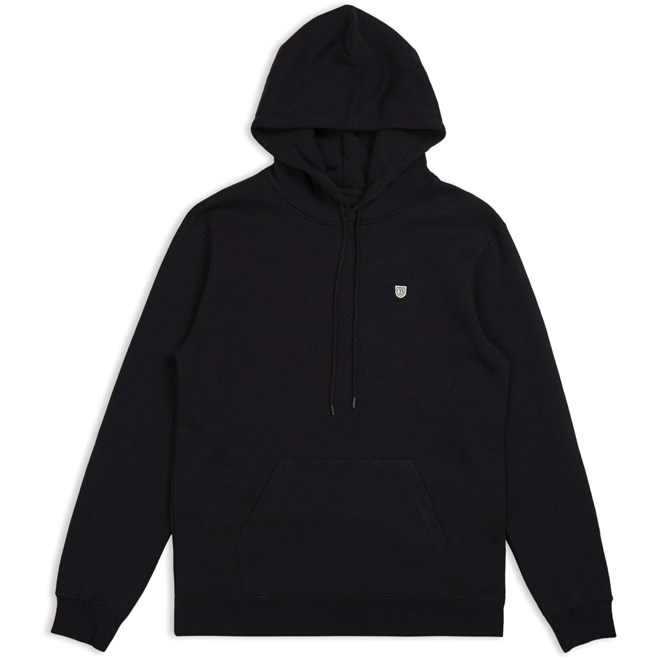 mikina BRIXTON - B-Shield Intl Hood Black (BLACK)