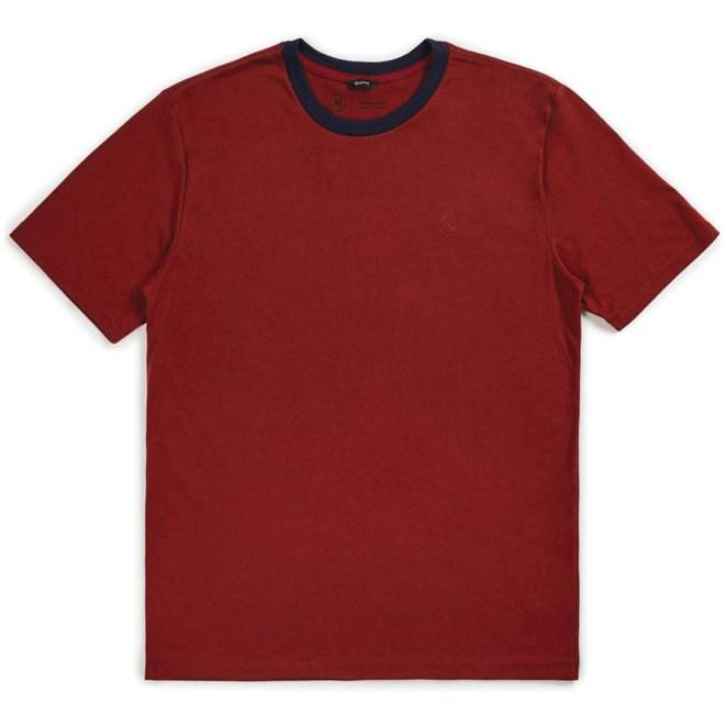 Tshirt BRIXTON - B-Shield S/S Prt Brick (BRICK)