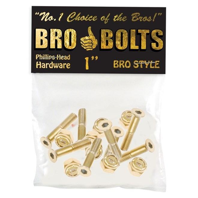 šroubky BRO STYLE - Bro Style Gold (MULTI)