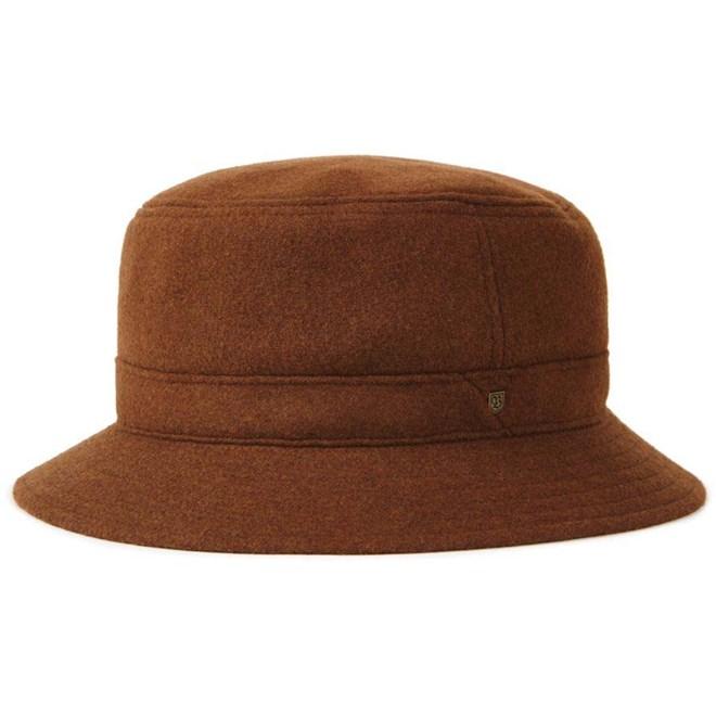 klobouk BRIXTON - Burroughs Bucket Hat Coffee (COFFE)
