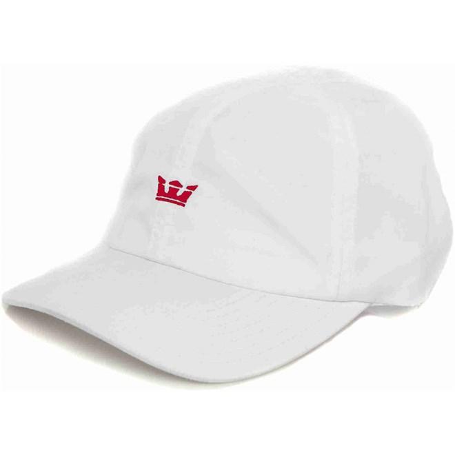 kšiltovka SUPRA - Crown Runner Hat White-Red (119)